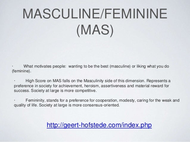 masculinity and femininity essay This sample femininity and masculinity essay is published for informational purposes only free essays and research papersread more here.