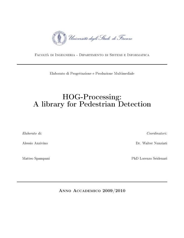 Hog processing