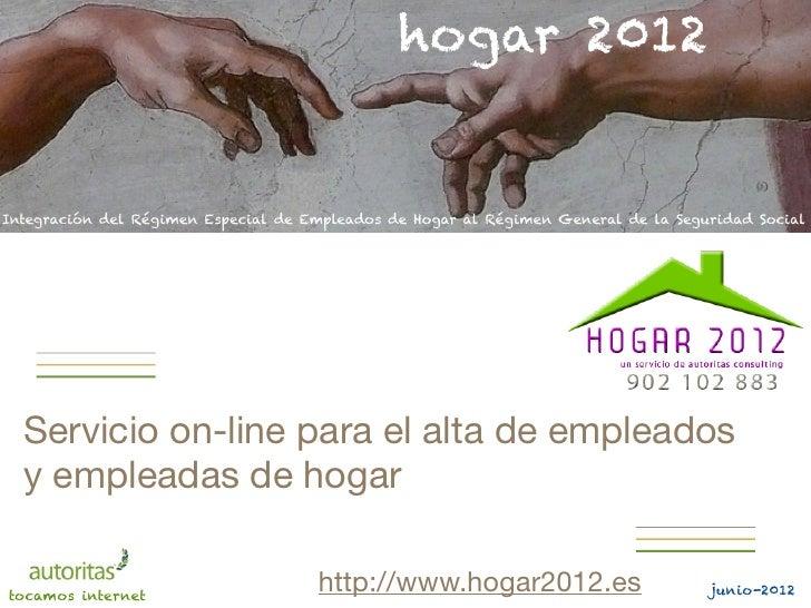 Hogar 2012   servicio on-line