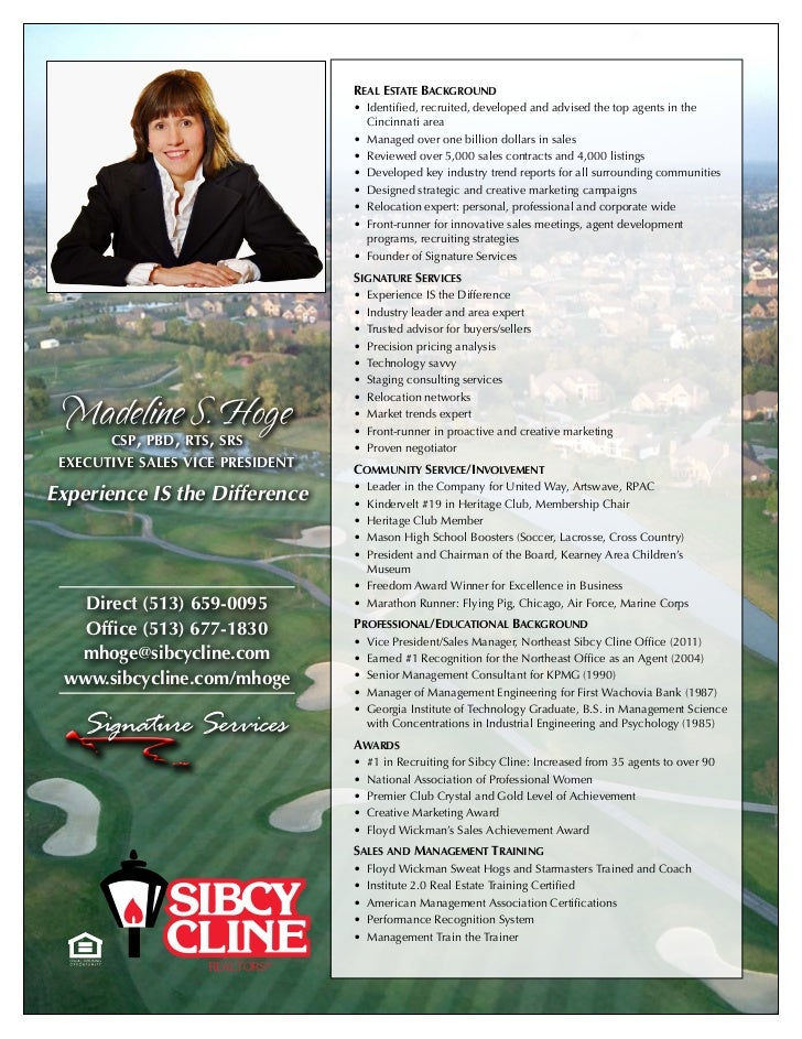 real estate background                                  • Identified,recruited,developedandadvisedthetopagentsin...