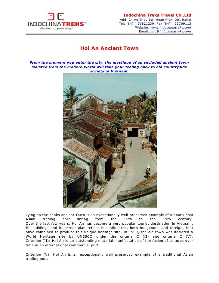Indochina Treks Travel Co.,Ltd                                                    Add: 24 Au Trieu Str, Hoan Kiem Dis, Han...