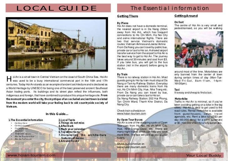 Hoi an local guide