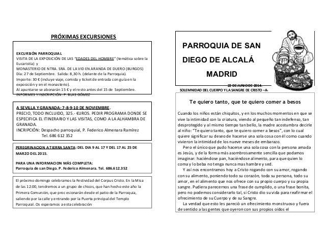 """PRÓXIMAS EXCURSIONES EXCURSIÓN PARROQUIAL VISITA DE LA EXPOSICIÓN DE LAS """"EDADES DEL HOMBRE"""" (temática sobre la Eucaristía..."""