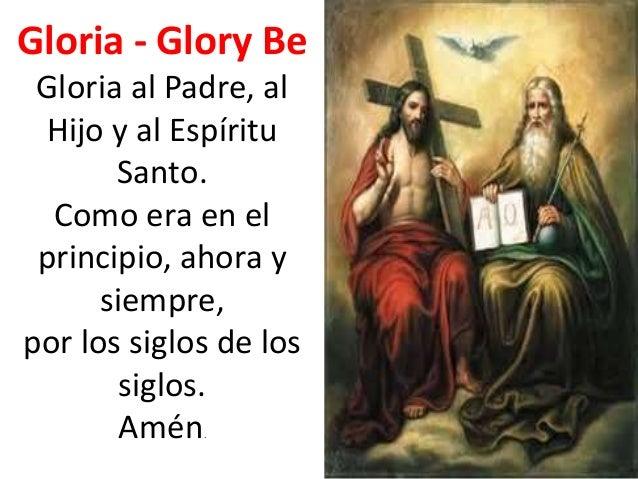 Resultado de imagen para Gloria al Padre, gloria al Hijo, gloria al Espíritu Santo
