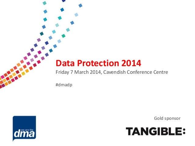 DMA Data Protection 2014