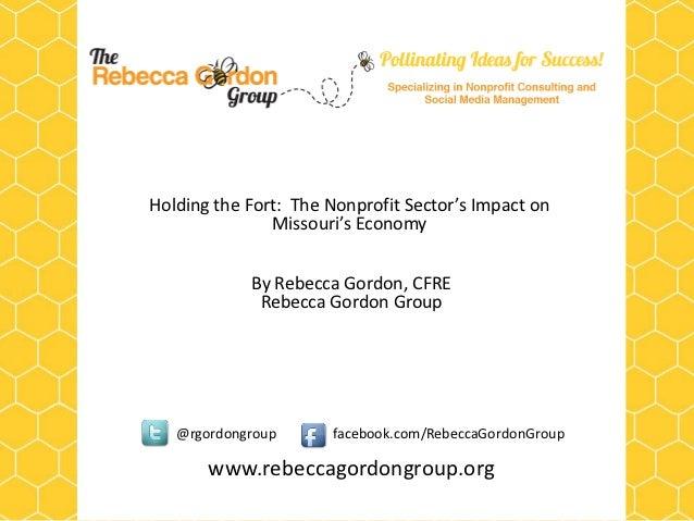 Nonprofit's Impact on the Economy