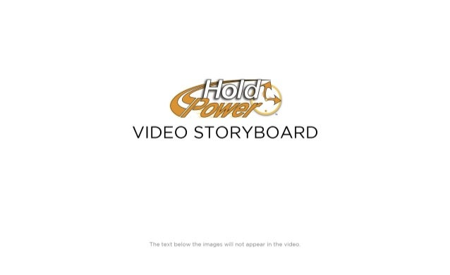 Whiteboard Animation Video Storyboard for Hold Power