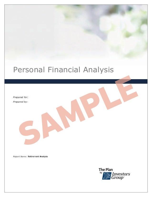 Personal Financial Analysis September 18, 2012 Prepared for: Roger Abbott and Joanne Abbott Prepared by: Retirement Analys...
