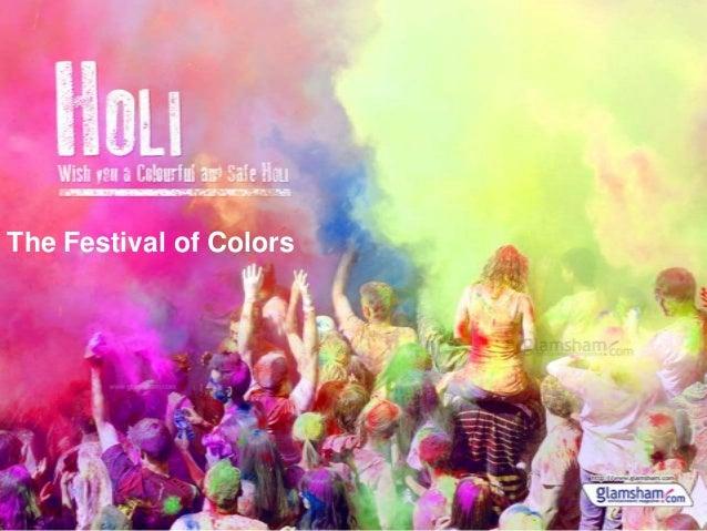Holi - The festival of colors