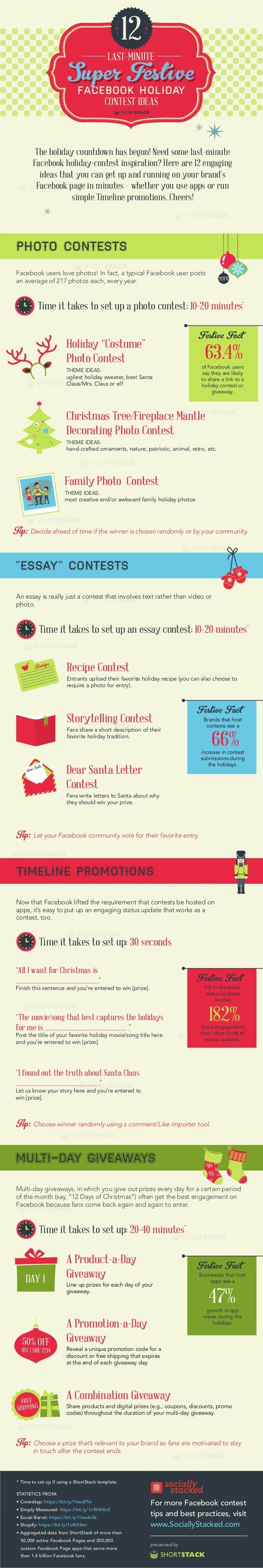 12 Holiday Facebook Contest Ideas You Can Implement Today