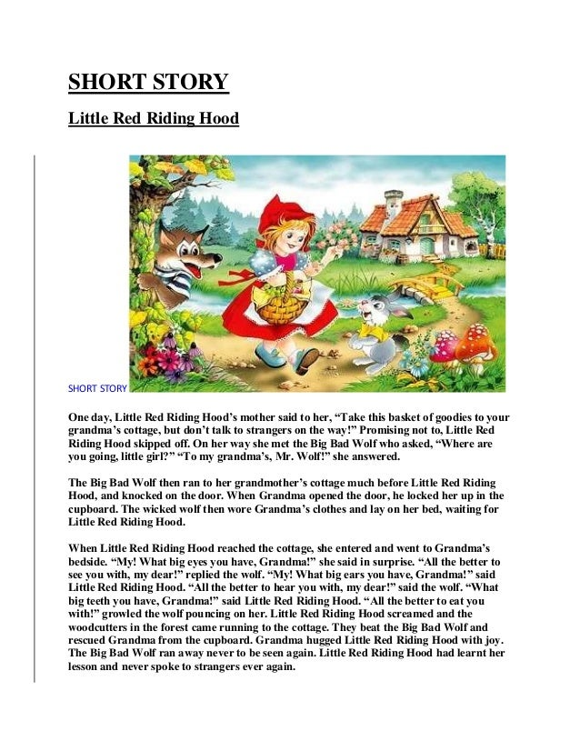 Short Story Writing For Kids