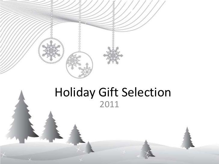 Holiday Season 2011 Concepts