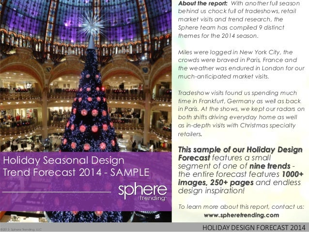 About the report: With another full season                                behind us chock full of tradeshows, retail      ...