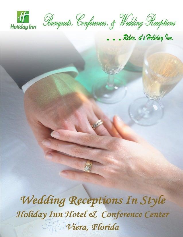 Holiday inn melbourne viera wedding guide 2013