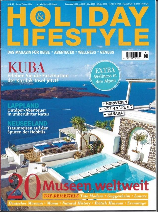 Holiday & Lifestyle Jan 15 - Dinarobin + Trou aux Biches