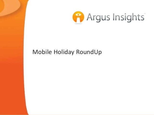 Mobile Holiday RoundUp