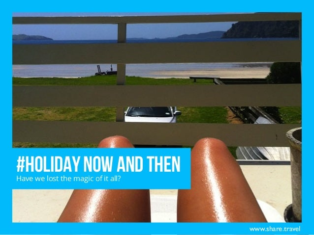Holiday Now and Then – Has Social Media Influenced the Way we Vacation