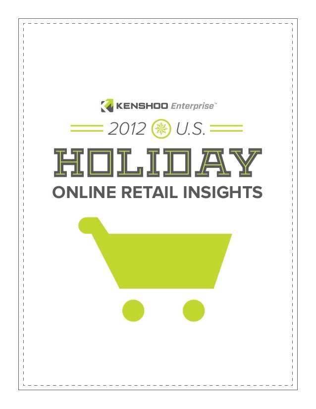 Holiday online retail insight