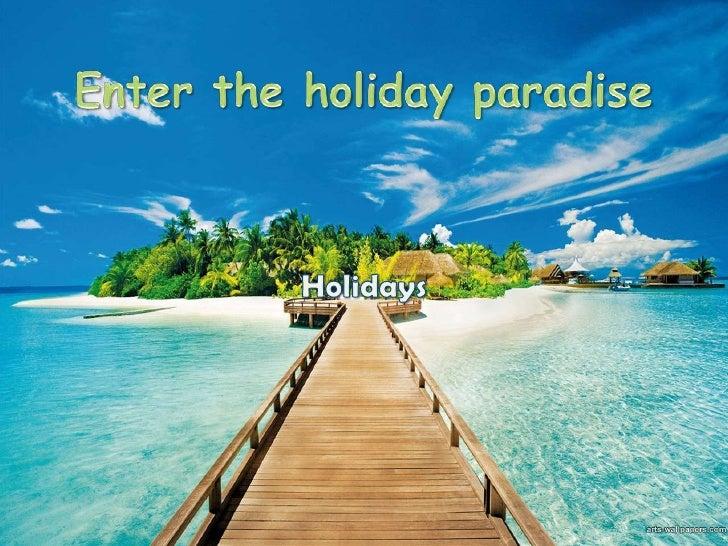 Holidays  adéla veselá