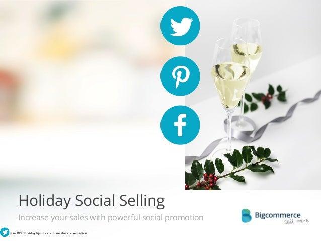 Holiday Social Selling