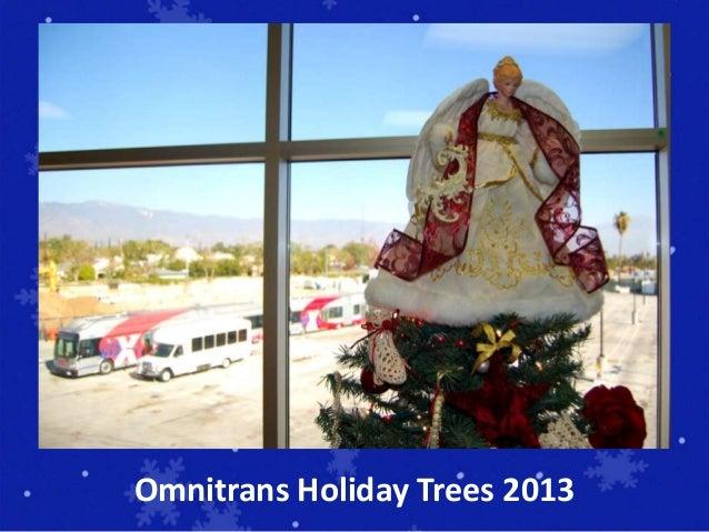 Omnitrans Holiday Trees 2013
