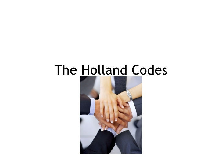 The Holland Codes