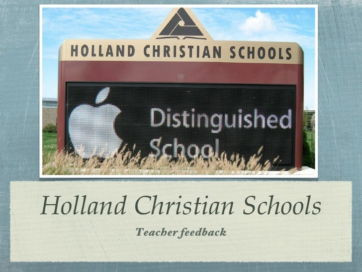 Holland christian overview