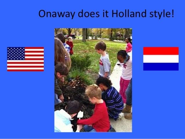 Holland tulip activity