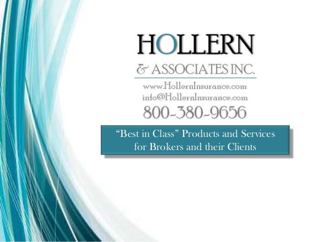 """Best in Class"" Products and Services for Brokers and their Clients"