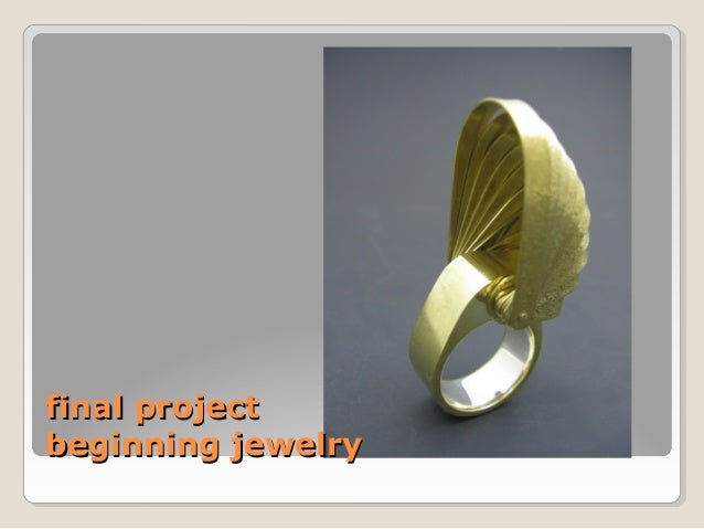 final projectbeginning jewelry