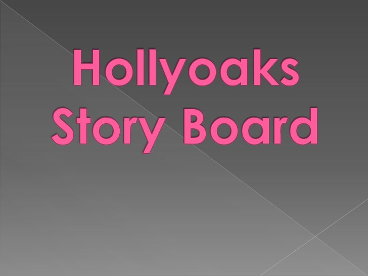 Hollyoaks preliminary task