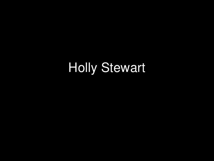 Holly Stewart 2009