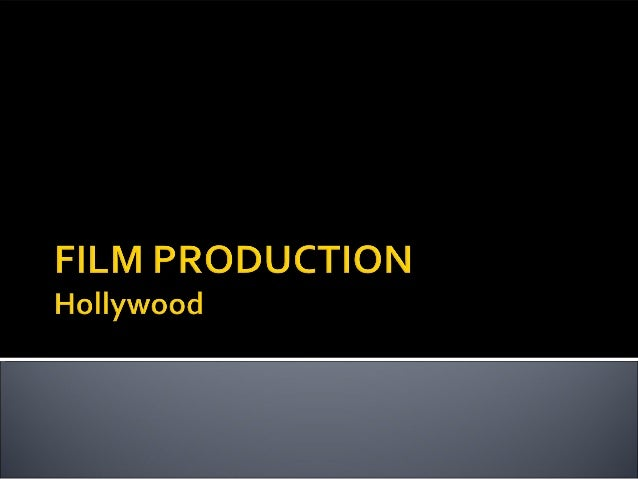 hollywood film industry essay The us film industry is an example not of post-fordism but of industrial dualism,  in which  the essay, dealing with the collusion of hollywood in the industrial.
