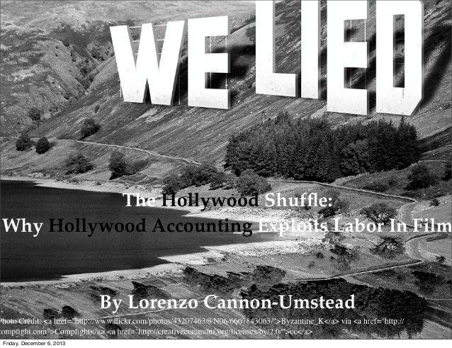 Hollywood accounting pdf