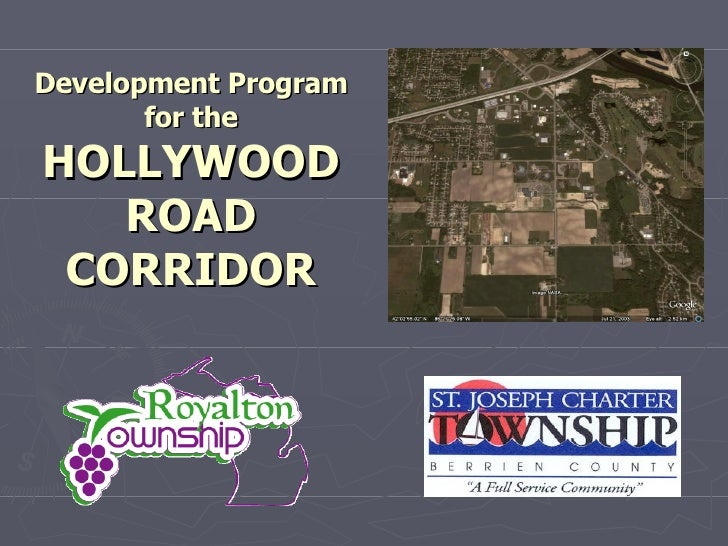Development Program for the HOLLYWOOD ROAD CORRIDOR