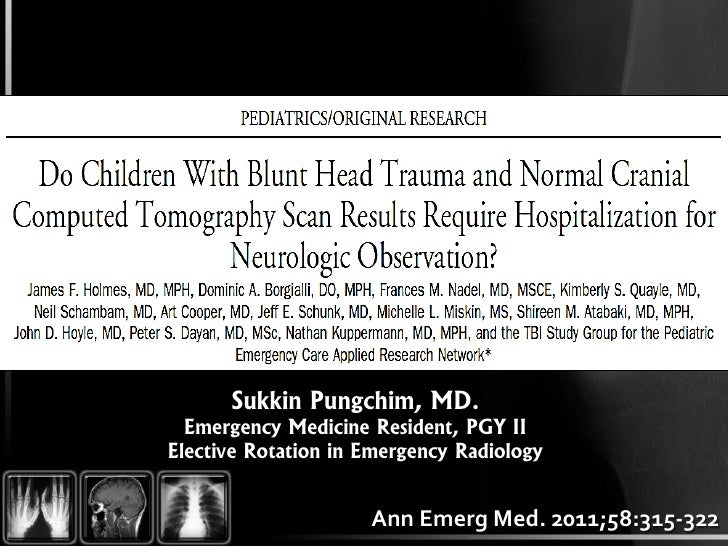 Sukkin Pungchim, MD.  Emergency Medicine Resident, PGY IIElective Rotation in Emergency Radiology                     Ann ...