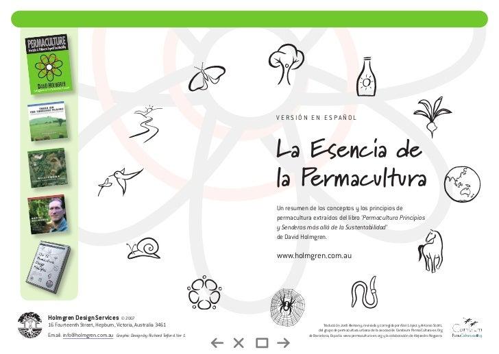 Versión en español                                                                        La Esencia de                   ...