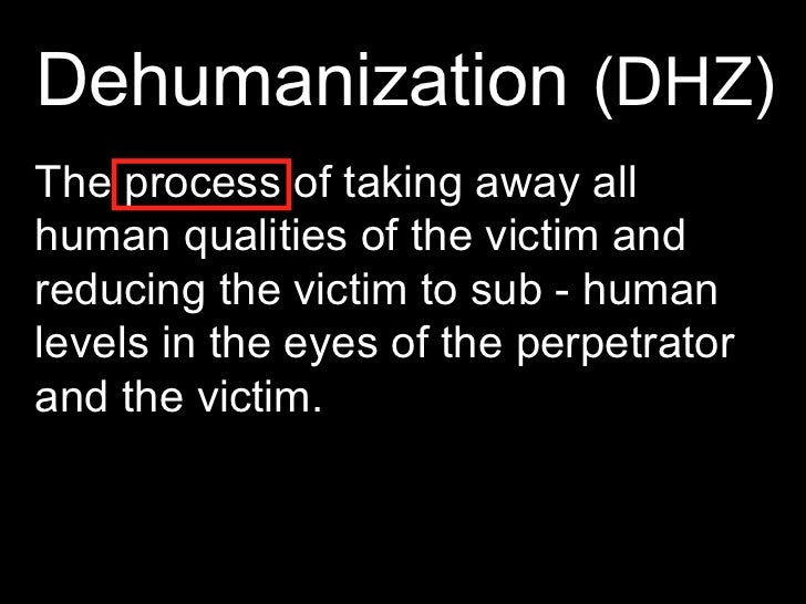 Related Keywords Amp Suggestions For Dehumanization