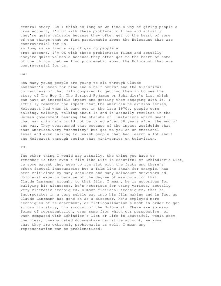 holocaust thesis statement I need a thesis statement about the holocaust and it needs to tie into european history as well (for my european history class) my original thesis was .