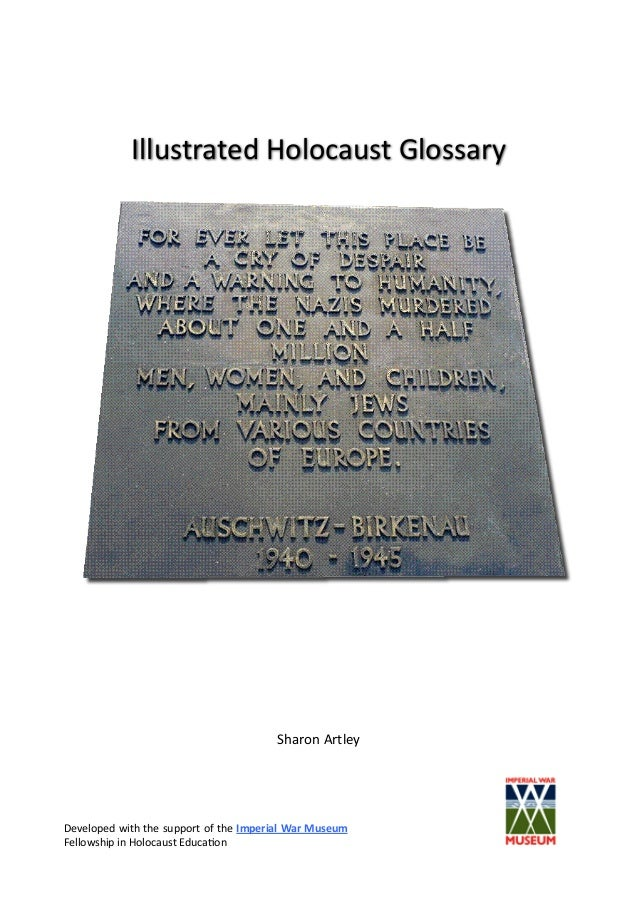 Holocaust glossary 2nd_ed