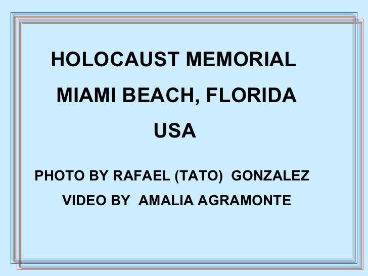 Holocaust Memorial Tato