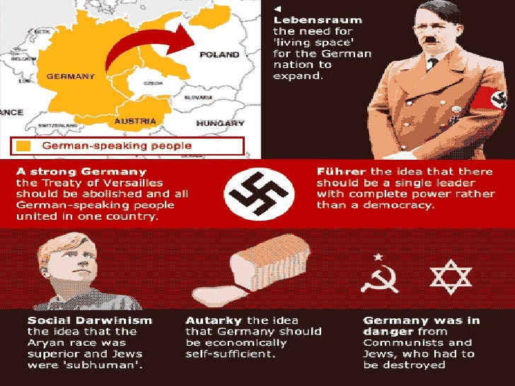 the impact of nazi ideology on foreign policy The impact of the treaty of versailles nazi foreign policy c nazi ideology combines reactionary ideas.