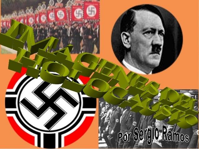 Adolf Hitler asume el control del partido NAZI desde1921 y es nombrado Canciller alemán en enero de 1933