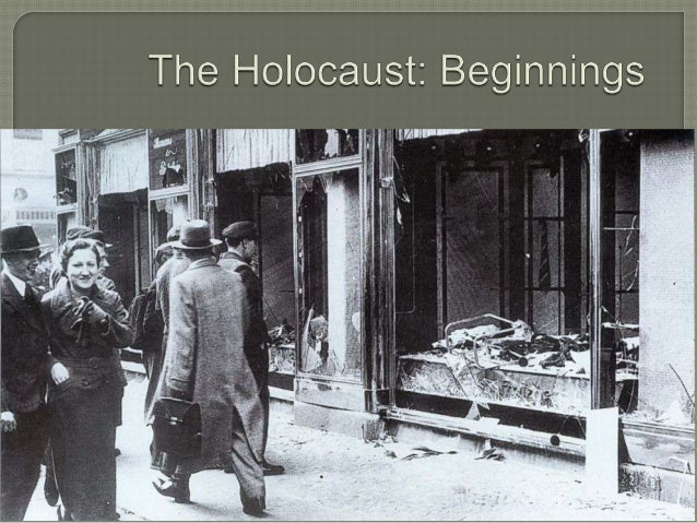  Take  out a piece of notebook paper and answer the following question:  Many observers of the Holocaust wonder why more ...