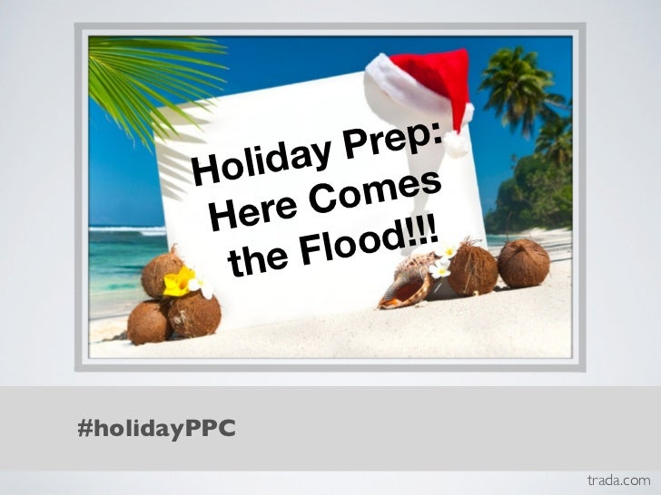 [WEBINAR] Holiday Prep: Here Comes the Flood