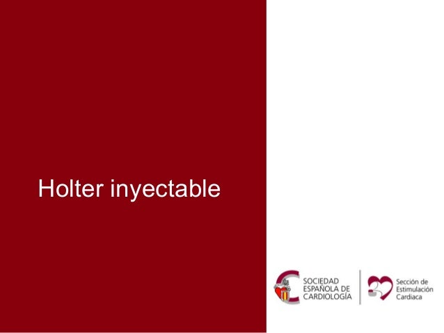 Holter inyectable de nueva generación