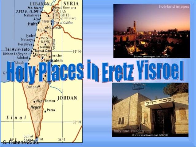 Holy Places In Eretz Yisroel.Iyh