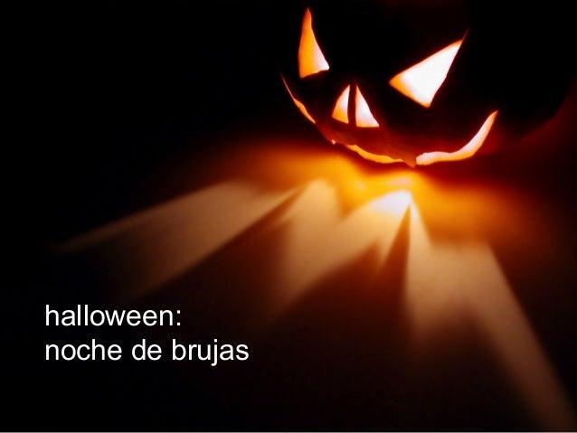 halloween: noche de brujas