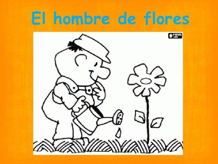 El hombre de flores