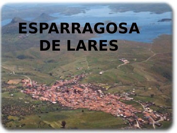 ESPARRAGOSA DE LARES